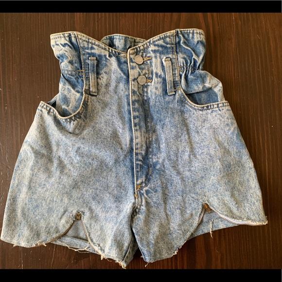 Free People Pants - Vintage acid washed cut offs